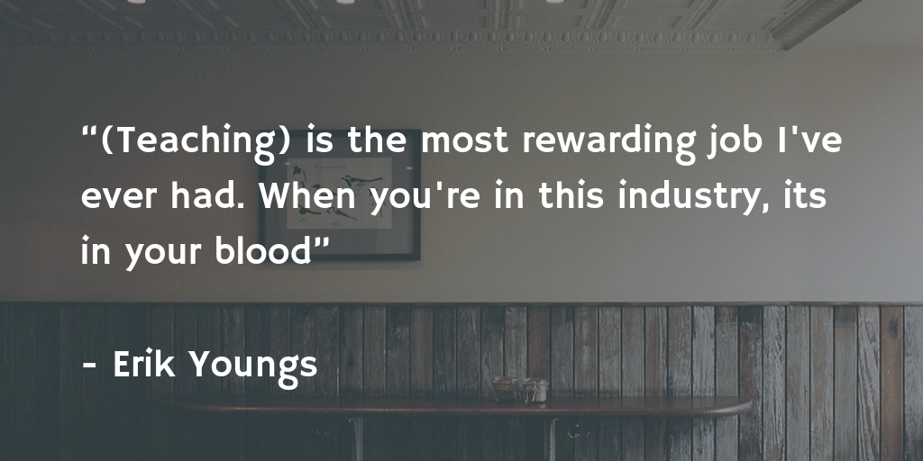 teaching-quote-by-Erik Youngs-ioenotes